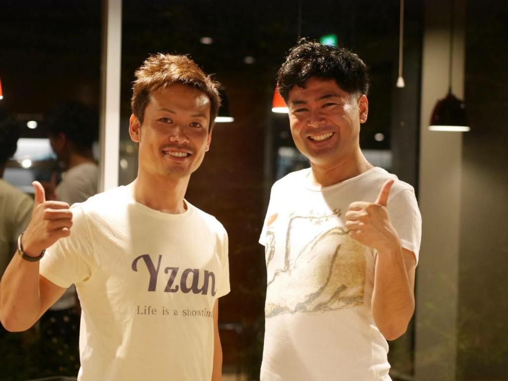 香川にはなんとYzanオリジナルTシャツを着て参加してくれた人もいました!中山さんありがとう!