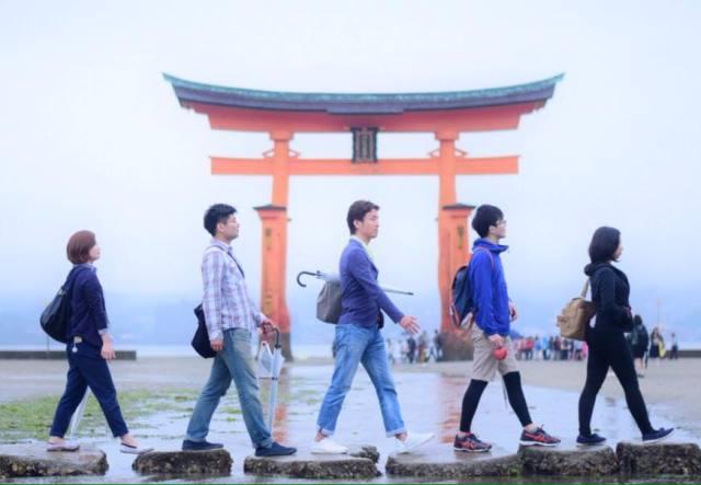 アビイ・ロード in 宮島