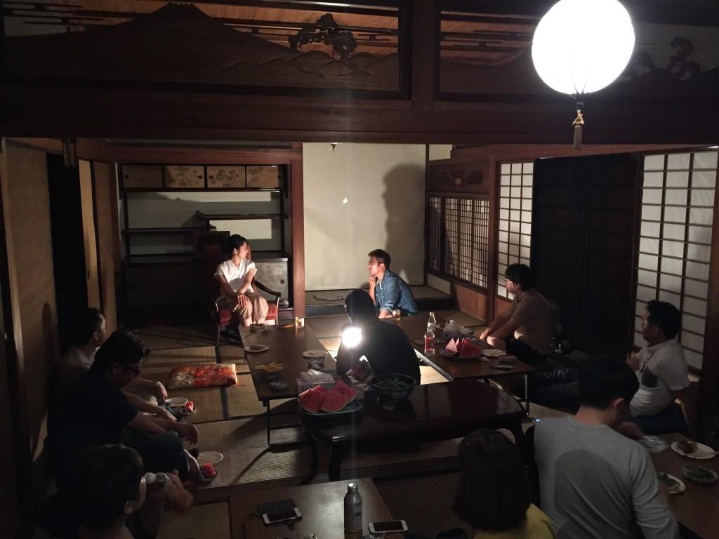 大阪から参加してくれた松本優子さんの公開コンサルセッション。