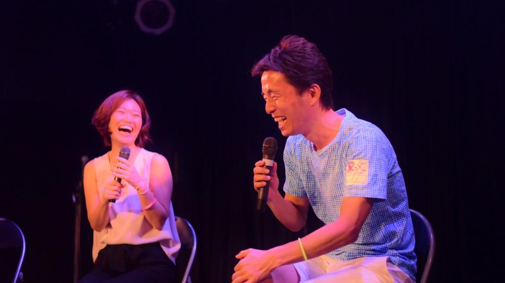 それがこの二人。白谷麻衣ちゃんと岩瀬晃さん。