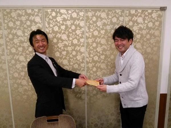 2013年11月16日。山口県湯田温泉ホテル松政にて温泉ソムリエに認定されました!